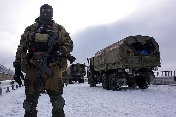 Lực lượng Ukraine rút lui - báo cáo của OBSE ảnh 7