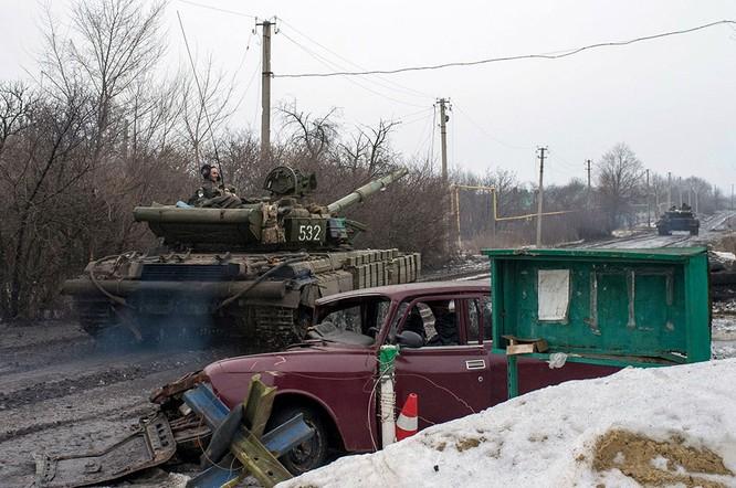 Lực lượng Ukraine rút lui - báo cáo của OBSE ảnh 11