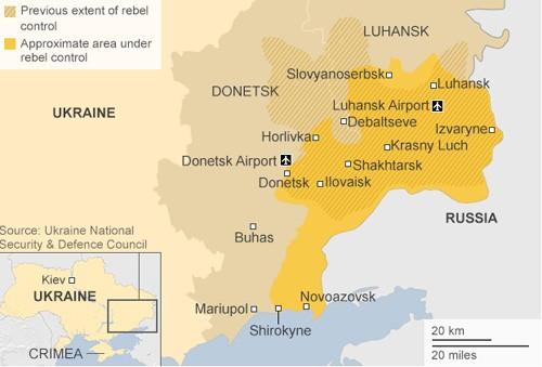 Sân bay Donetsk - chiến trường khốc liệt Đông Ukraine ảnh 1