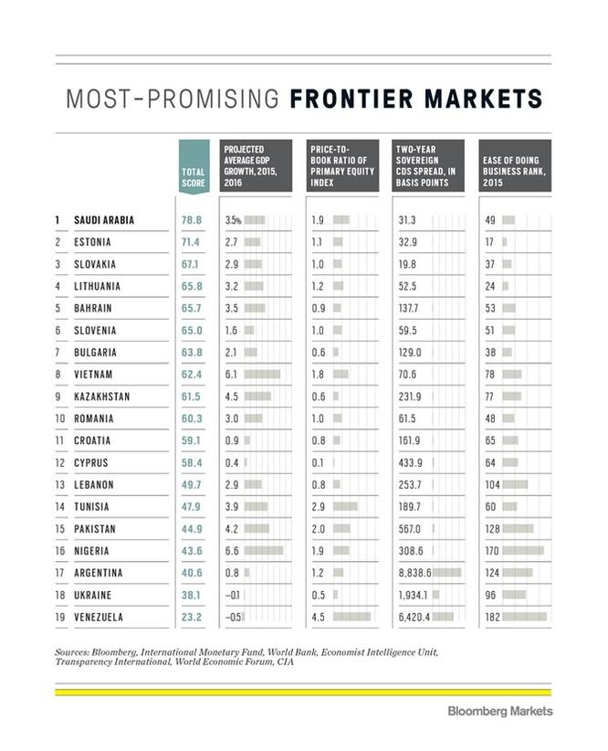 Việt Nam lọt top 10 thị trường cận biên tiềm năng nhất ảnh 2