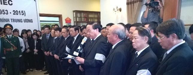 Hàng nghìn người tiễn đưa ông Nguyễn Bá Thanh lần cuối ảnh 1