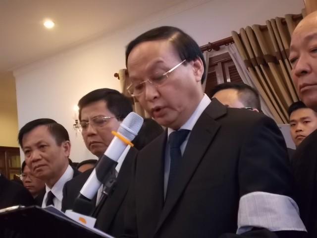 Hàng nghìn người tiễn đưa ông Nguyễn Bá Thanh lần cuối ảnh 2