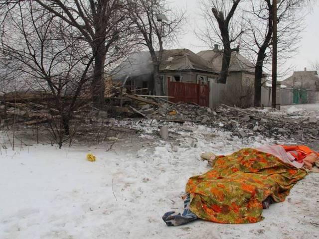 """""""Chảo lửa"""" Debaltsevo tan hoang sau trận huyết chiến khốc liệt ảnh 17"""