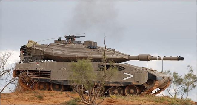 5 loại vũ khí đáng sợ của Israel ảnh 1