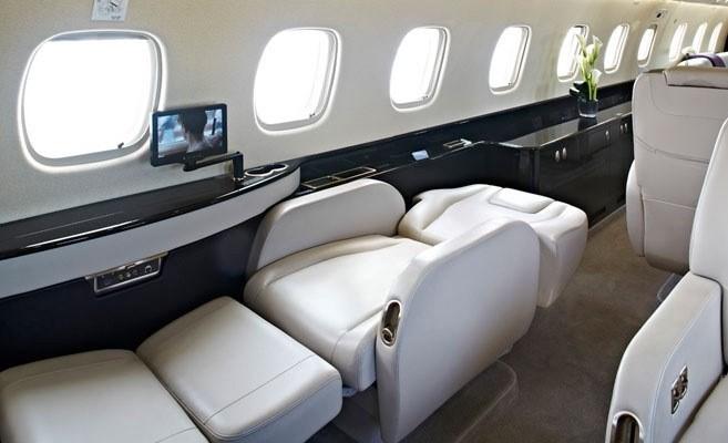Cận cảnh mẫu máy bay mới gần 600 tỷ đồng của bầu Đức ảnh 6