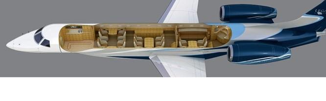 Cận cảnh mẫu máy bay mới gần 600 tỷ đồng của bầu Đức ảnh 10