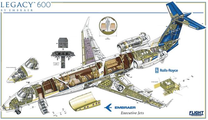 Cận cảnh mẫu máy bay mới gần 600 tỷ đồng của bầu Đức ảnh 12