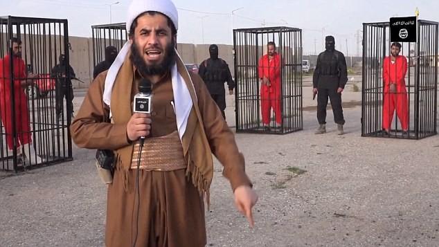IS tung video chiến binh người Kurd bị nhốt trong lồng sắt ảnh 1