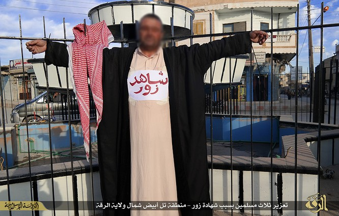 Cuộc sống tàn khốc bên trong lãnh thổ Nhà nước Hồi giáo (phần 2) ảnh 54