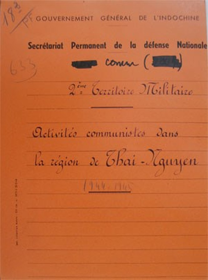 Trận đánh đầu tiên của Quân đội Việt Nam trong hồ sơ của Pháp ảnh 1