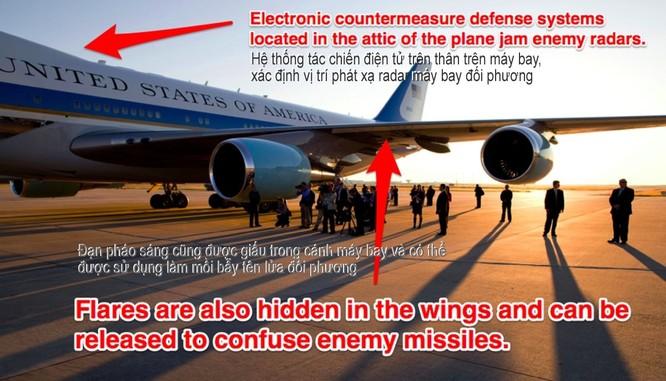 """Điều gì khiến Air Force One trở thành pháo đài bay """"độc nhất vô nhị""""? ảnh 4"""