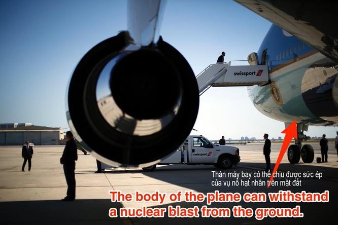 """Điều gì khiến Air Force One trở thành pháo đài bay """"độc nhất vô nhị""""? ảnh 5"""