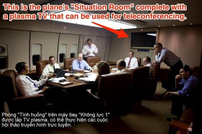 """Điều gì khiến Air Force One trở thành pháo đài bay """"độc nhất vô nhị""""? ảnh 9"""