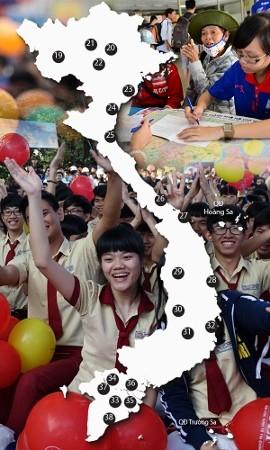 Công bố 38 cụm thi THPT quốc gia 2015 ảnh 4
