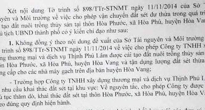 """Nguyên Chủ tịch UBND Đà Nẵng """"không ký hàng loạt văn bản trong 1 ngày"""" ảnh 1"""
