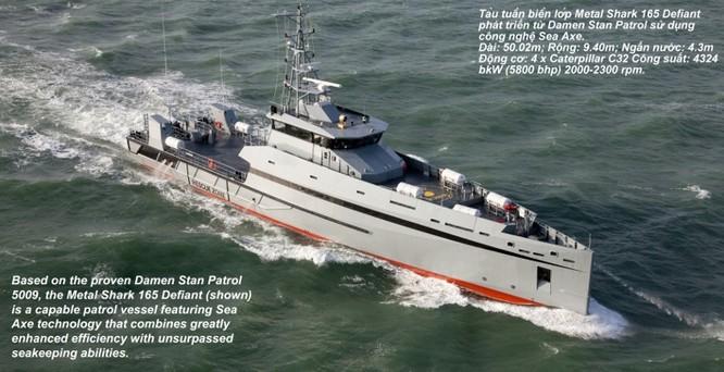 Sức mạnh tàu tuần tra hiện đại Mỹ viện trợ cho cảnh sát biển Việt Nam ảnh 1