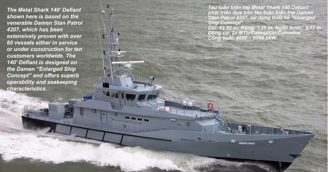 Sức mạnh tàu tuần tra hiện đại Mỹ viện trợ cho cảnh sát biển Việt Nam ảnh 2