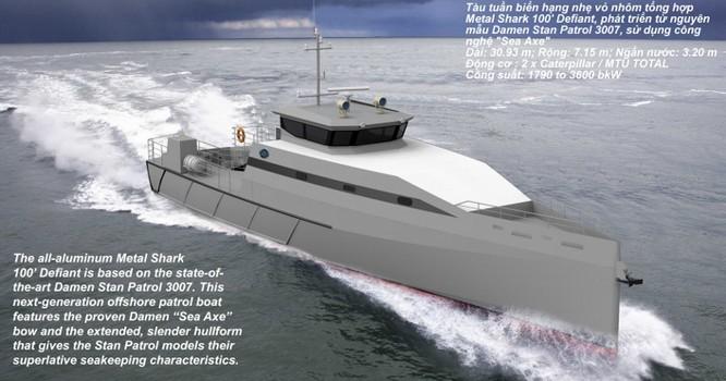 Sức mạnh tàu tuần tra hiện đại Mỹ viện trợ cho cảnh sát biển Việt Nam ảnh 3