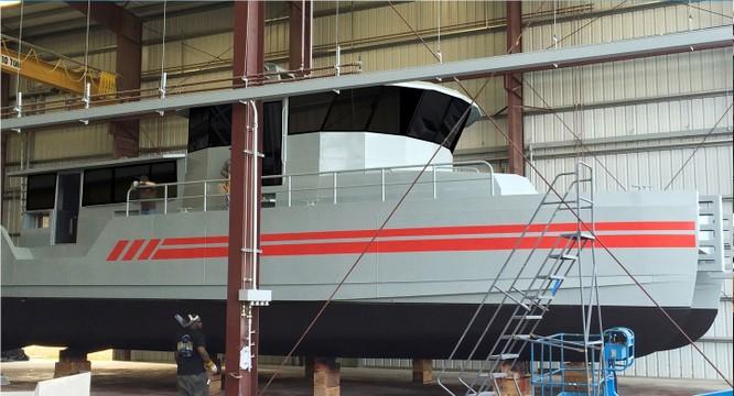 Sức mạnh tàu tuần tra hiện đại Mỹ viện trợ cho cảnh sát biển Việt Nam ảnh 7