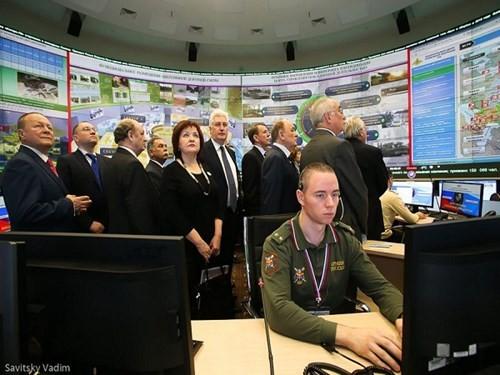 """Trung tâm chỉ huy quốc phòng quốc gia """"siêu hiện đại"""" của Nga ảnh 6"""