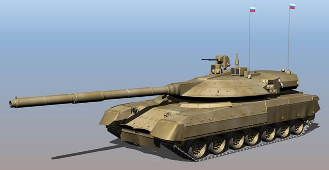 """Dự đoán những đặc điểm của xe tăng bí mật thế hệ 4 """"Armata"""" T -14 ảnh 1"""