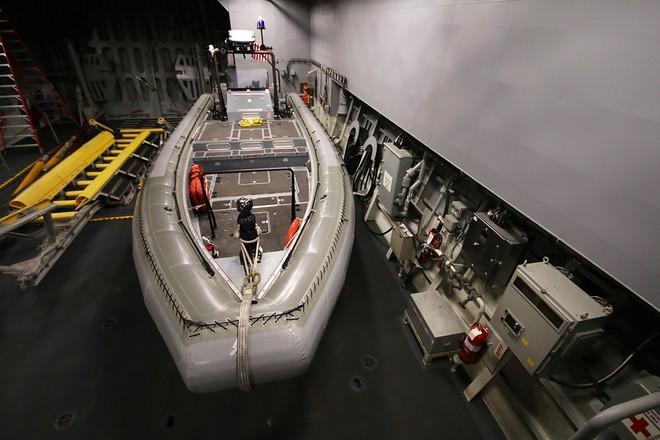 Hai tàu khu trục của Mỹ cập cảng Đà Nẵng ảnh 7