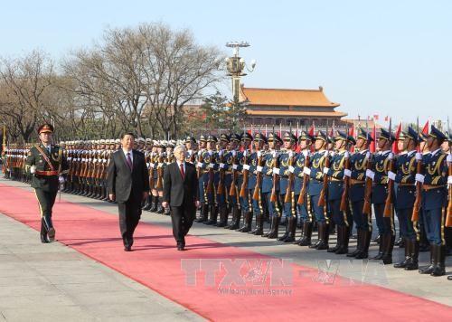 Duy trì đại cục quan hệ Việt-Trung ổn định tại Biển Đông ảnh 1