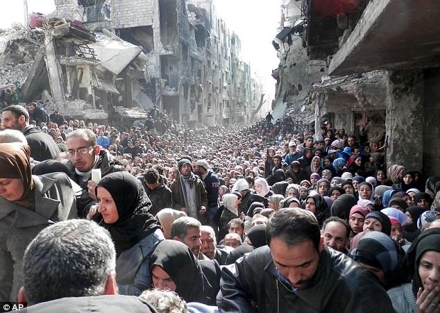 IS thảm sát người Palestine trong trại tị nạn Yarmourk ảnh 3