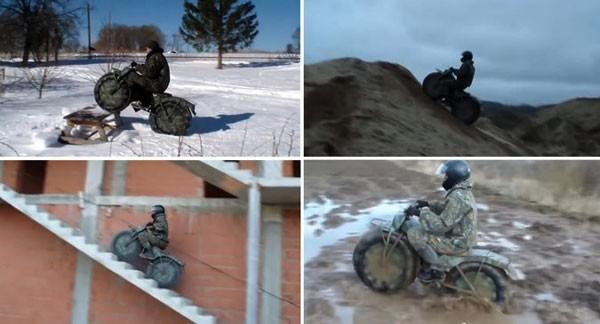 Taurus 2 - Xe địa hình bỏ túi từ nước Nga ảnh 2