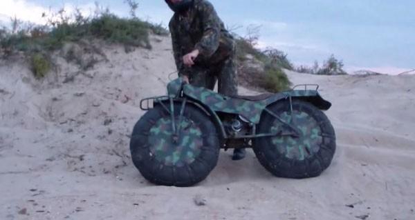 Taurus 2 - Xe địa hình bỏ túi từ nước Nga ảnh 8