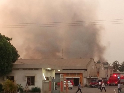 Cháy lớn ở Khu chế xuất Tân Thuận ảnh 1