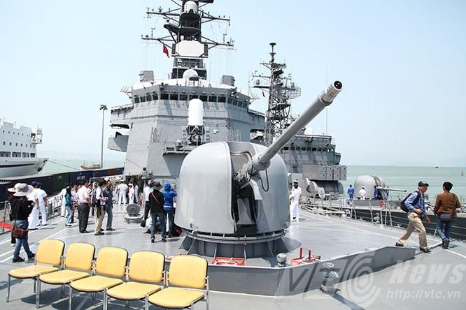 Hai tàu Lực lượng tự vệ biển Nhật Bản thăm Đà Nẵng ảnh 11