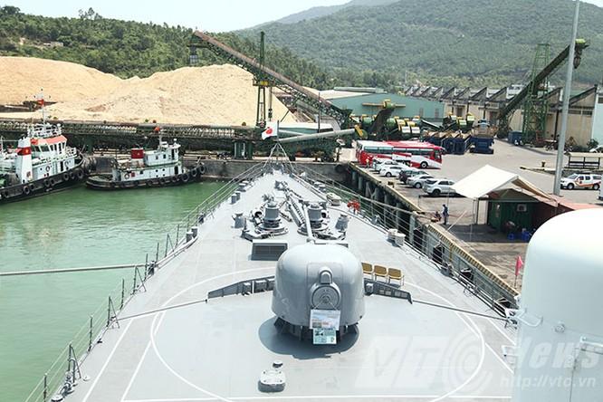 Hai tàu Lực lượng tự vệ biển Nhật Bản thăm Đà Nẵng ảnh 12