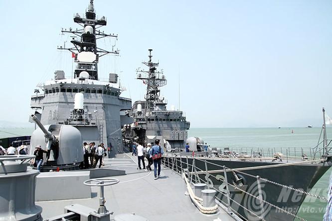 Hai tàu Lực lượng tự vệ biển Nhật Bản thăm Đà Nẵng ảnh 13