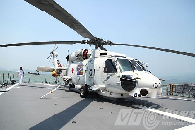 Hai tàu Lực lượng tự vệ biển Nhật Bản thăm Đà Nẵng ảnh 16