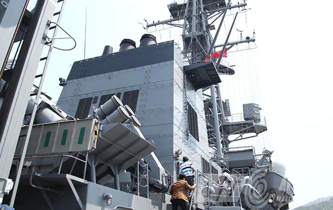 Hai tàu Lực lượng tự vệ biển Nhật Bản thăm Đà Nẵng ảnh 17