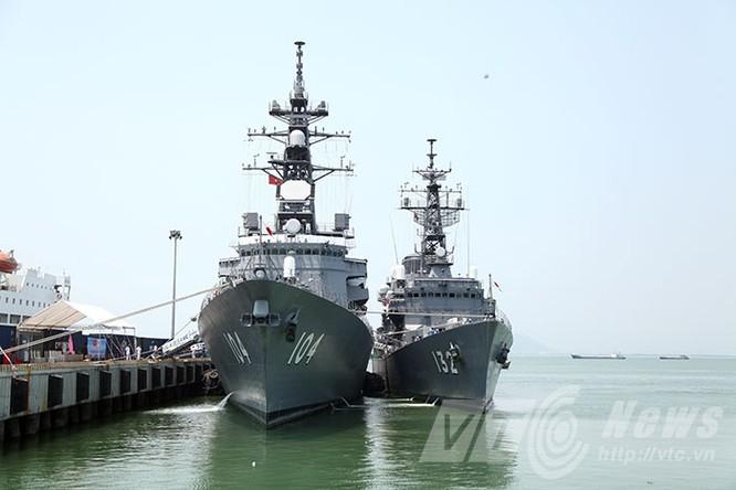 Hai tàu Lực lượng tự vệ biển Nhật Bản thăm Đà Nẵng ảnh 1