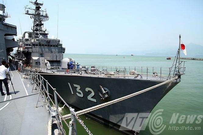 Hai tàu Lực lượng tự vệ biển Nhật Bản thăm Đà Nẵng ảnh 22