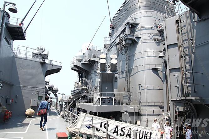 Hai tàu Lực lượng tự vệ biển Nhật Bản thăm Đà Nẵng ảnh 26