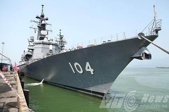 Hai tàu Lực lượng tự vệ biển Nhật Bản thăm Đà Nẵng ảnh 2
