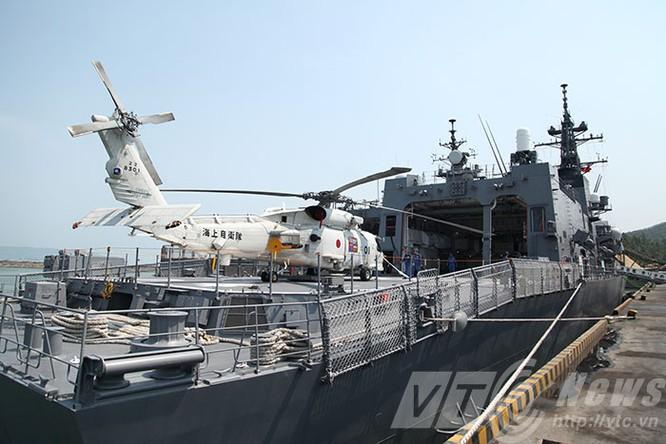 Hai tàu Lực lượng tự vệ biển Nhật Bản thăm Đà Nẵng ảnh 3