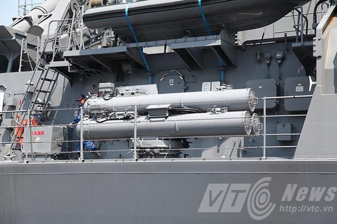 Hai tàu Lực lượng tự vệ biển Nhật Bản thăm Đà Nẵng ảnh 6