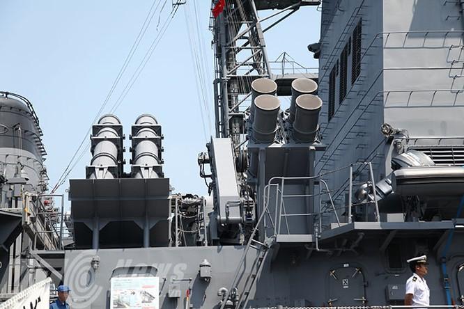 Hai tàu Lực lượng tự vệ biển Nhật Bản thăm Đà Nẵng ảnh 9