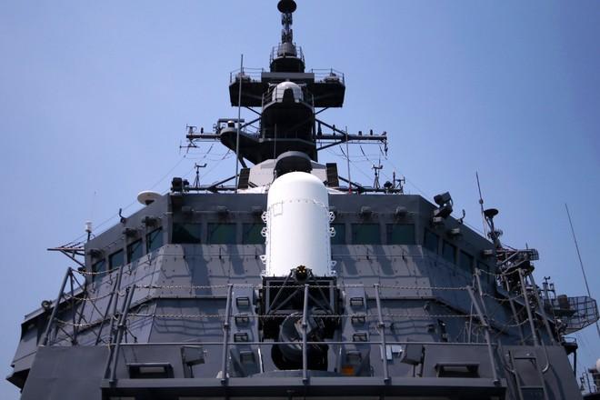 Hai tàu Lực lượng tự vệ biển Nhật Bản thăm Đà Nẵng ảnh 8
