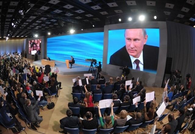 Đối thoại hóm hỉnh của ông Putin với người dân ảnh 5