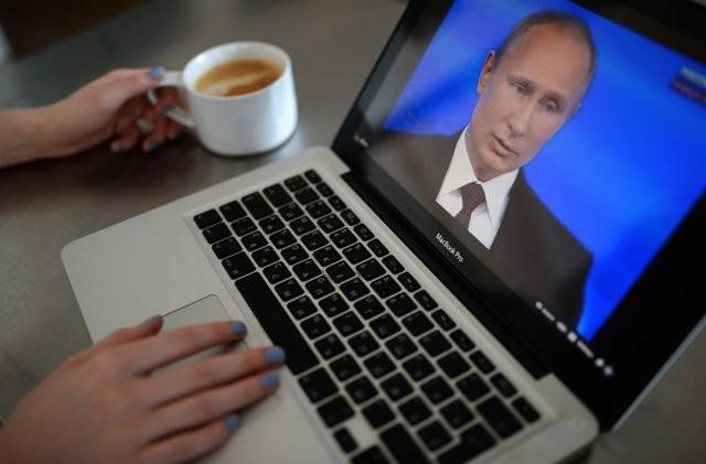 Đối thoại hóm hỉnh của ông Putin với người dân ảnh 6