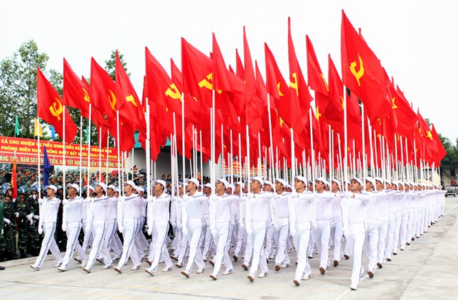 Hàng nghìn chiến sĩ hợp diễu binh dưới nắng gắt Sài Gòn ảnh 2