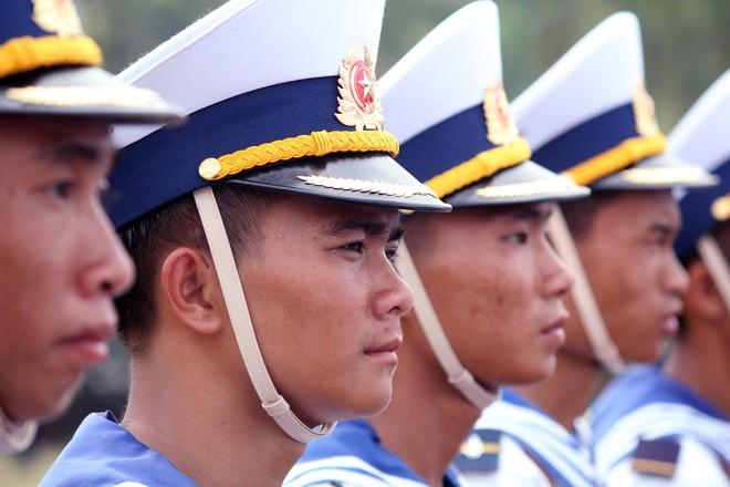 Hàng nghìn chiến sĩ hợp diễu binh dưới nắng gắt Sài Gòn ảnh 7