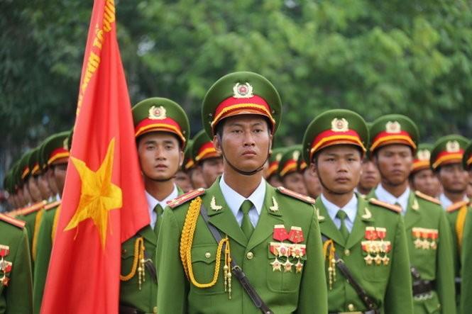 Hàng nghìn chiến sĩ hợp diễu binh dưới nắng gắt Sài Gòn ảnh 14