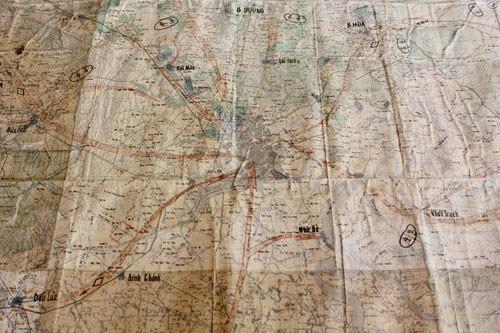 Tấm bản đồ quyết tâm thống nhất đất nước ảnh 2